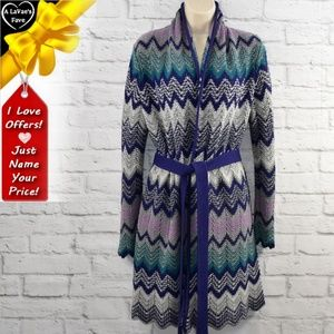 Long Open Front Cardigan ~0dl06p1a